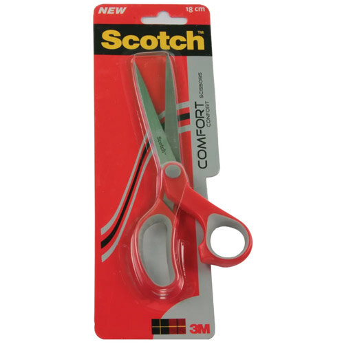 3M Scotch Comfort Scissors For Left &Right Handed Use 18cm 1427