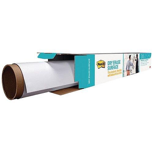 Post-it Super Sticky White Dry Erase Film Roll 609 x 914mm DEF3X2EU