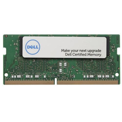 Dell - DDR4 - 4 GB - SO-DIMM 260-pin - 2400 MHz / PC4-19200 - 1.2 V - unbuffered - non-ECC - for Inspiron 13 7375, 15, 15 35XX, 15 55XX, 20 3064, 5575, 5775; Latitude 3480, 3580, 74XX