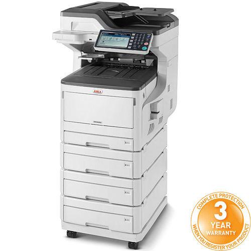 OKI MC853DNV A3, A4, A5, A6 Multifunction Printer Colour LED AiO - USB, LAN - Speed: 23ppm - 600 x 1200 dpi - (Fax/Copier/Printer/Scanner)