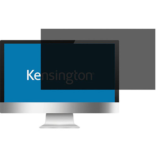"""Kensington Screen Privacy Filter 2 Way Removable 19.5"""" Wide 16:9 Ref. 626478"""