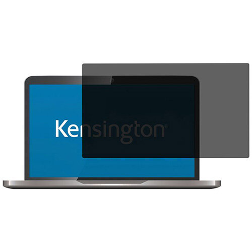 """Kensington Screen Privacy Filter 2 Way Removable 16"""" Wide 16:9 Ref. 626471"""