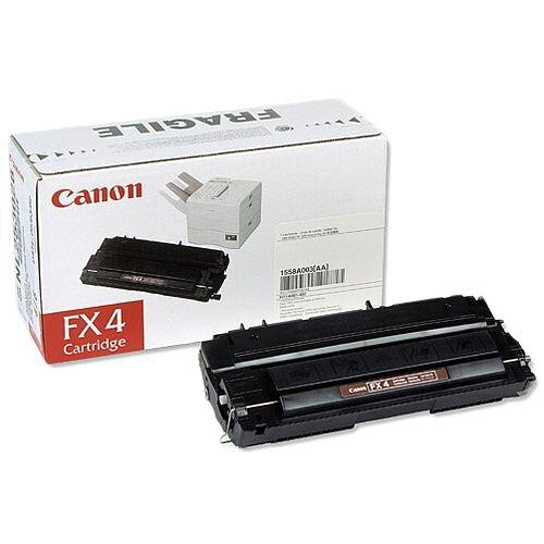 Canon FX4 Black Fax Toner Cartridge 1558A003