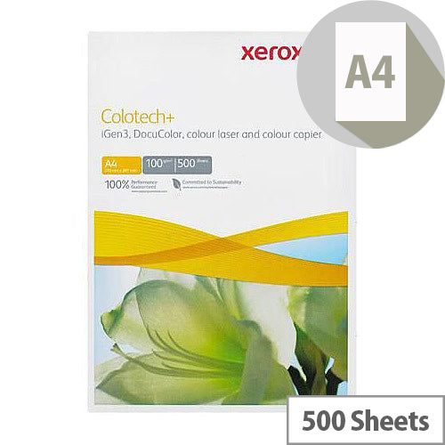 Xerox A4 Colotech Plus 100gsm White Premium Copier Paper 500 Sheets
