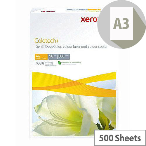 Xerox Premium Copier Paper A3 100gsm White 500 Sheets