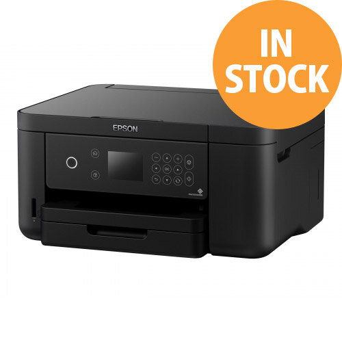 Epson Expression Home XP-5105 All in one printer WiFi Duplex - colour - ink-jet - A4 (media) - up to 33 ppm (printing) - 150 sheets - USB, Wi-Fi(n) - black