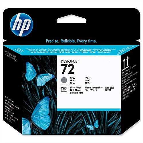 HP 72 Grey and Photo Black Printhead C9380A
