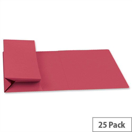 Guildhall Probate Wallets Manilla Foolscap Red Pack of 25