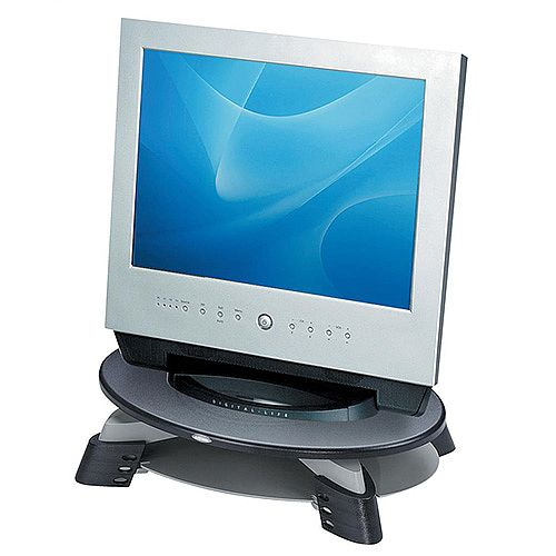 Fellowes TFT LCD Monitor Riser 17inch Grey Charcoal