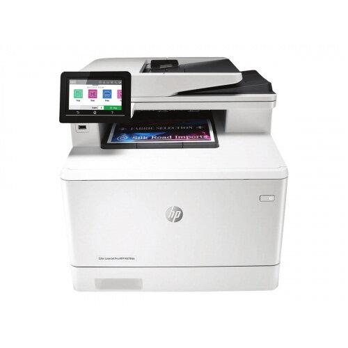 HP Color LaserJet Pro MFP M479fdn - Multifunction printer - colour - laser - Legal (216 x 356 mm) (original) - A4/Legal (media) - up to 27 ppm (copying) - up to 27 ppm (printing) - 300 sheets - 33.6 Kbps - USB 2.0, LAN, USB host