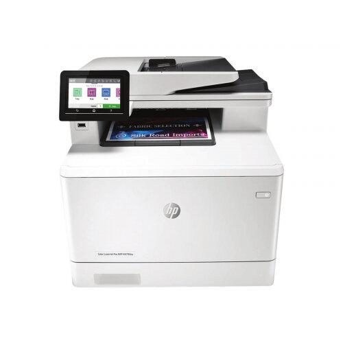 HP Color LaserJet Pro MFP M479fdw - Multifunction printer - colour - laser - Legal (216 x 356 mm) (original) - A4/Legal (media) - up to 27 ppm (copying) - up to 27 ppm (printing) - 300 sheets - 33.6 Kbps - USB 2.0, LAN, Wi-Fi(n), USB host