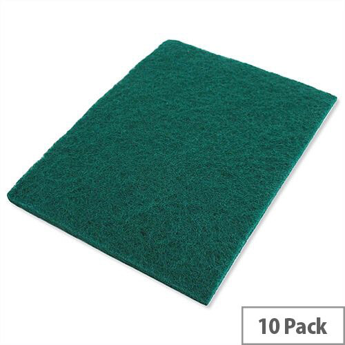 Economy Scourer Green 150x115mm Pack 10
