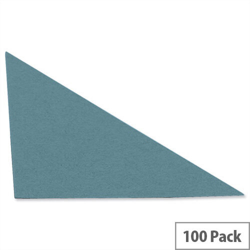 Guildhall Legal Corners Recycled Blue Pack of 100