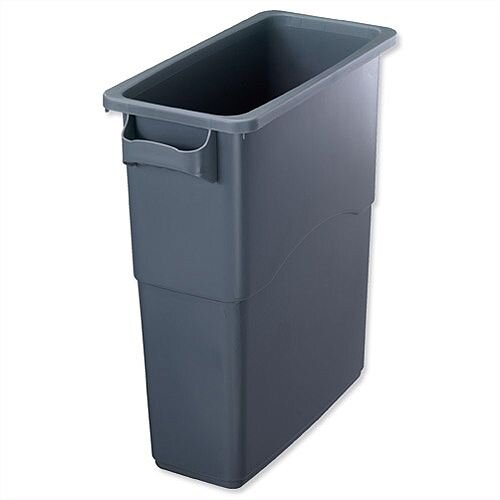 EcoSort 60 Litre Recycling Midi Bin Anthracite Grey Without Lid