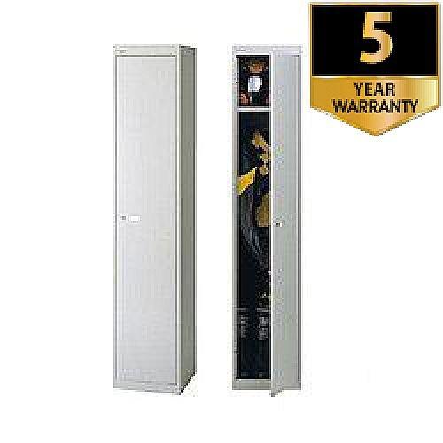 Bisley Deep Steel Locker 1 Door Goose Grey