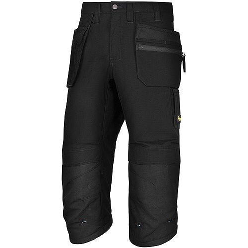 """Snickers LW 37.5 PirateTrousers Plus Holster Pockets 36"""" Inside Leg 3/4 Black Size 104 WW1"""