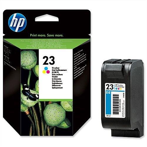 HP 23 Tricolour Ink Cartridge C1823D