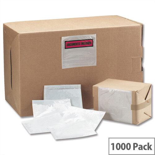 Tenzalope DL Polythene Envelopes Plain Packing List Internal 225 x 122 TLDLP Pack 1000