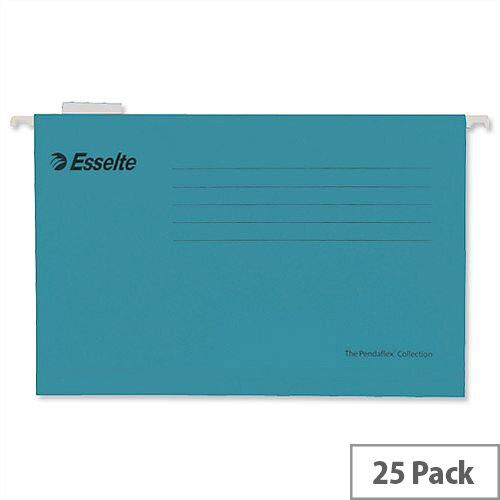 Esselte Pendaflex Economy Suspension File Foolscap Blue Pk 25 90334