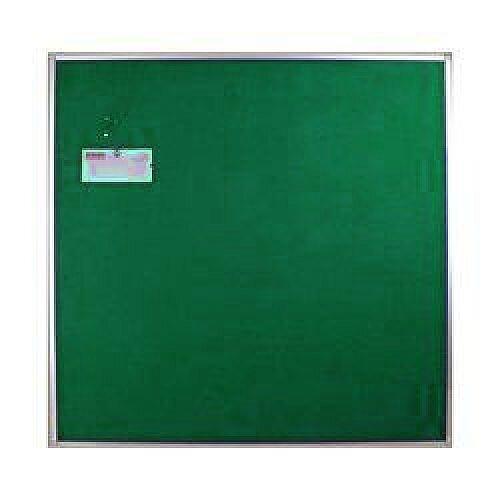 Aluminium Green Felt-Fabric Display Board 1200x1200mm