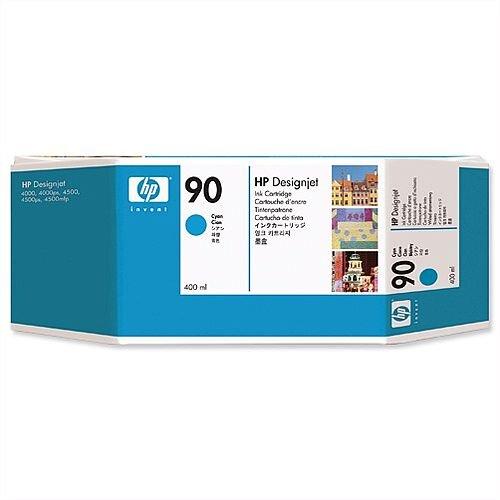 HP 90 Cyan Dye Ink Cartridge 400ml C5061A