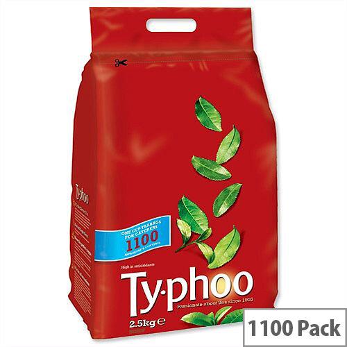 Typhoo Original Blend Tea Bags Vacuum Packed One Cup Pack 1100