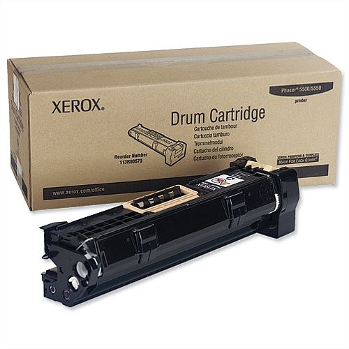 Original Xerox 113R00670 Black Imaging Drum Cartridge