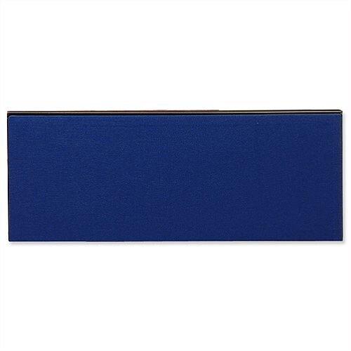 Jump Office Desk Screen Straight Top W800xH400mm Dark Blue