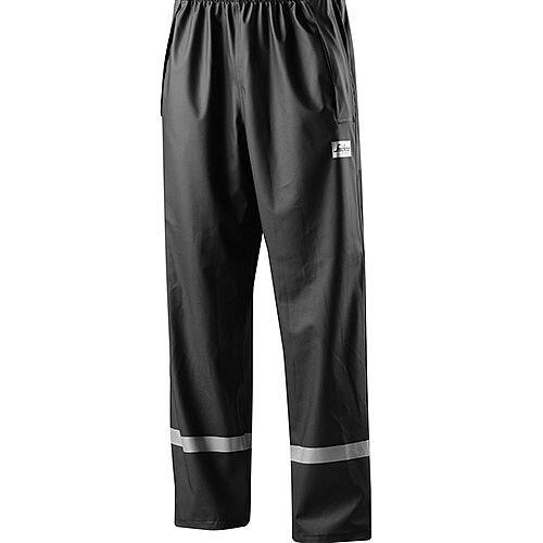 Snickers 8201 Rain Trousers PU Black