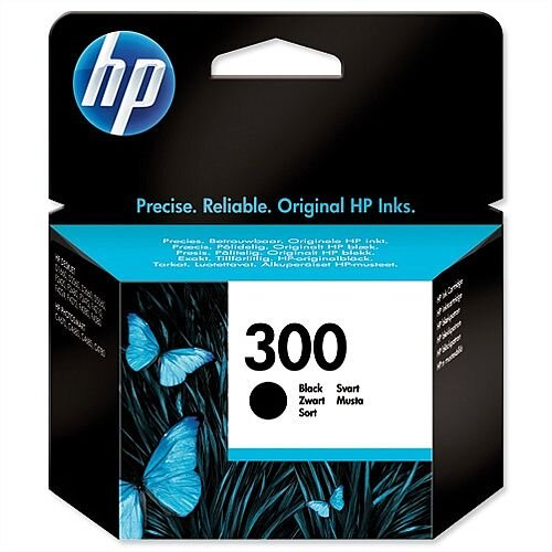 HP 300 Black Ink Cartridge CC640EE