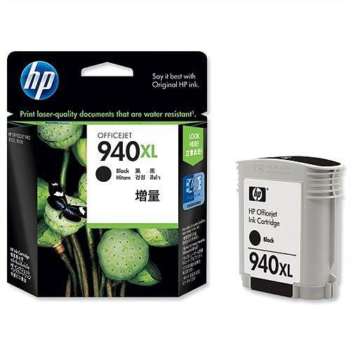 HP 940XL Black Ink Cartridge C4906AE
