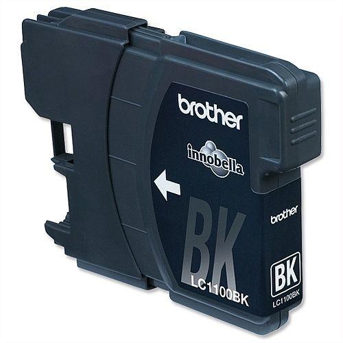 Brother LC-1100HYBK Black High Yield Ink Cartridge LC1100HY-BK
