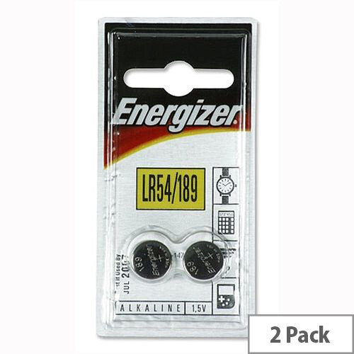 Energiser Speciality Alkaline 1.5 Volt Batteries - Suitable For Most Digital Cameras, Calculators and Car Alarms