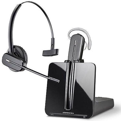 Plantronics CS540 Lightweight (21g) Wireless Headset, Range up to 120metres, 7 hours talktime, Energy Saving Feature