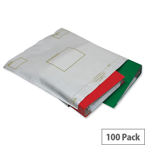 Ampac Extra C4 Opaque Strong Oxo-Biodegradable Polythene Protective Envelopes Pack of 100