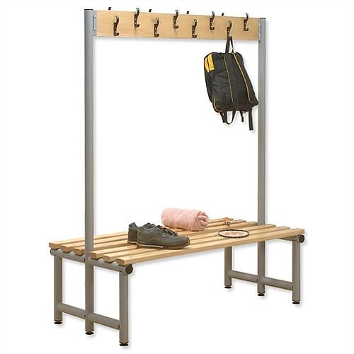 Double Sided Bench with Hooks 1000x720mm Trexus