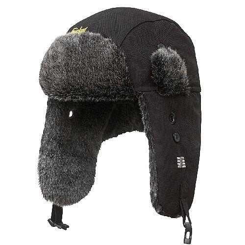 Snickers 9007 RuffWork Winter Heater Hat Size S/M Black
