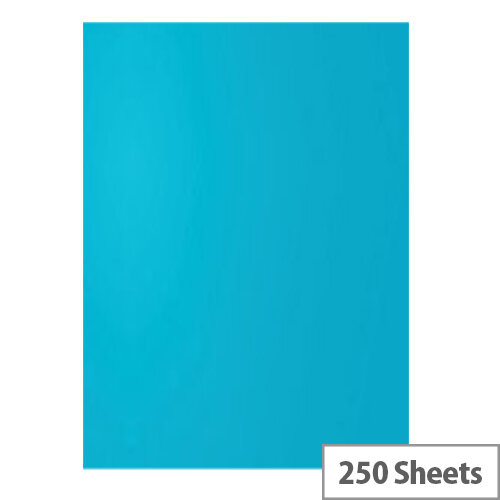 5 Star Office Deep Blue A4 Paper Multifunctional Coloured Card 160gsm 250 sheets