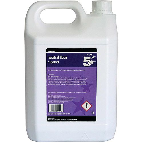 5 Star Facilities  5 Litre  Floor Cleaner Neutral
