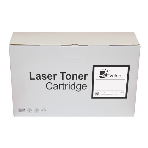 5 Star Value Remanufactured Laser Toner Cartridge Yield 6000 Pages Black for HP Printers Ref 940848