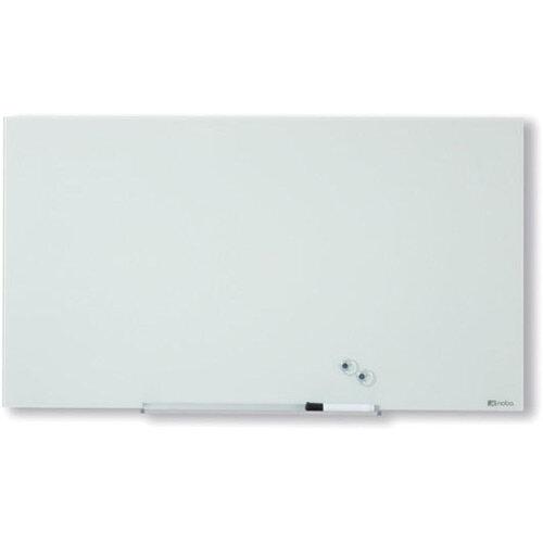 Nobo Diamond Glass Magnetic Whiteboard 677x381mm White