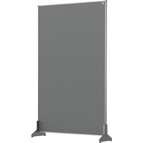 Nobo Impression Pro Desk Divider Screen Felt Surface 600x1000mm Grey