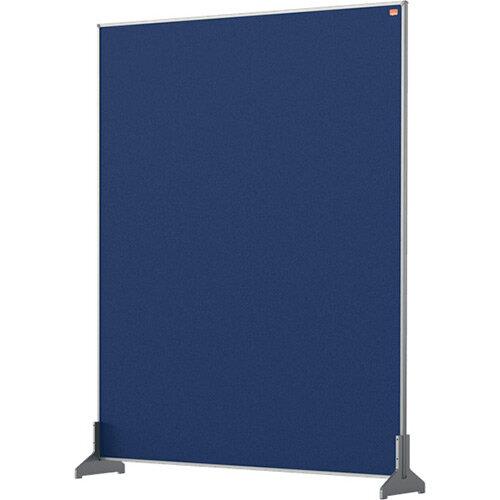 Nobo Impression Pro Desk Divider Screen Felt Surface 800x1000mm Blue