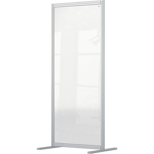 Nobo Premium Plus Clear Acrylic Protective Room Divider Screen Modular System 800x1800mm
