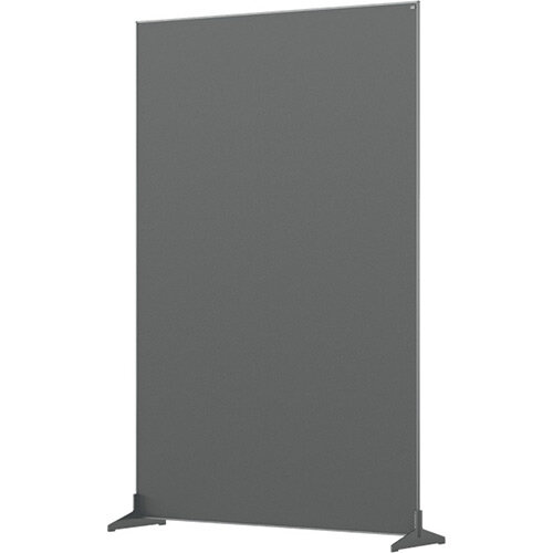 Nobo Impression Pro Free Standing Room Divider Screen Felt Surface 1200x1800mm Grey