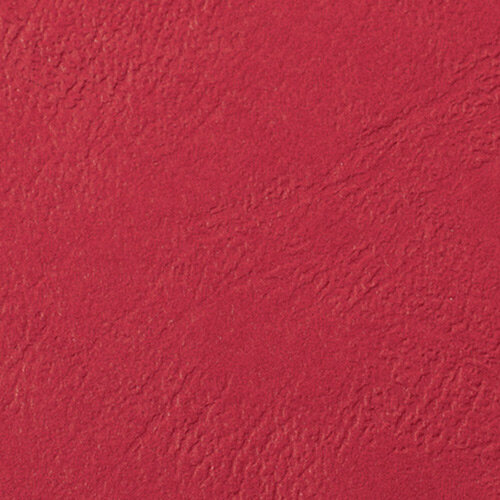 GBC LeatherGrain Binding Covers A4 Red Pack of 100