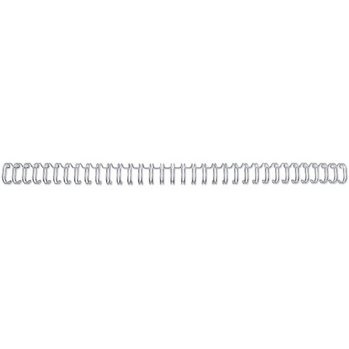 GBC WireBind Binding Wires 2:1 Wire No10 A4 White Pack of 200