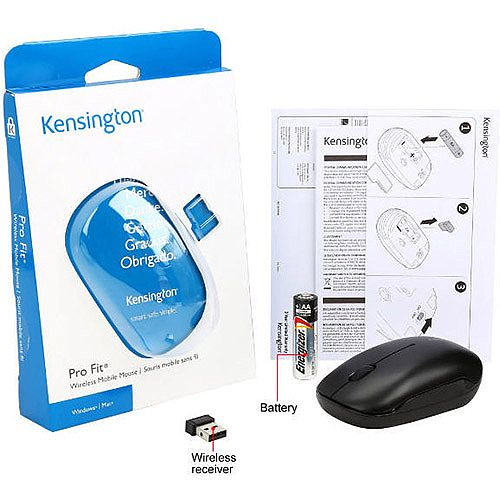 Kensington Pro Fit 2.4Ghz Wireless Mobile Mouse K72452WW
