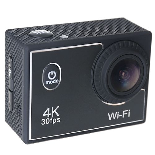 Denver ActionCam 4K Ultra HD - 16 MP - Waterproof - WiFi - 3840x2160px 60fps - LCD Display - CMOS Sensor ; MP4