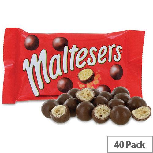 Mars Maltesers Chocolate and Honeycomb Pack 40 100533